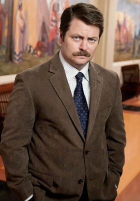 Fishing Ron Swanson
