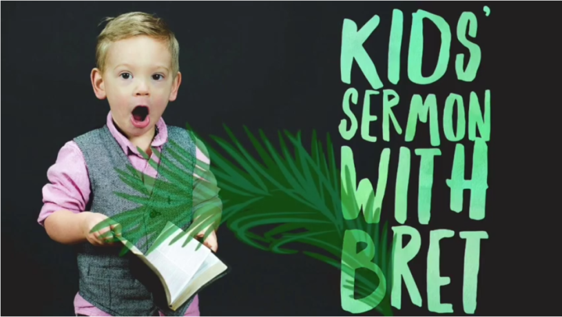 Palm Sunday Kids Craft